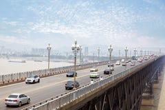 Nanjing, China. Nanjing, Yangtze River Bridge, built in 1986 Stock Image