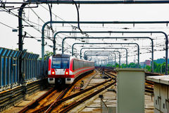 Nanjing, chinesische Metro Lizenzfreies Stockfoto