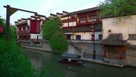 NanJing City Confucius Temple Stock Photos