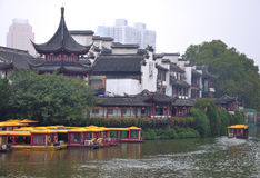 NanJing City Confucius Temple Royalty Free Stock Photo