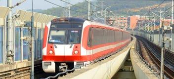Nanjing City-Metro Lijn 2, China Royalty-vrije Stock Fotografie