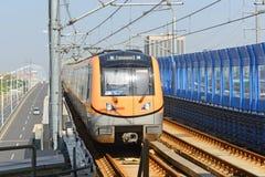 Nanjing City-Metro Lijn S8, China Stock Afbeeldingen