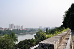 Nanjing city wall in the Ming dynasty Royalty Free Stock Photography