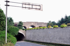 Nanjing city wall in the Ming dynasty royalty free stock image
