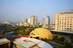 Nanjing Cityscape, China royalty free stock image