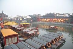 Nanjing confucius temple Stock Photo
