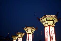 Nanjing confucius temple Royalty Free Stock Image