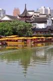 Nanjing Confucius Temple, China stock photography