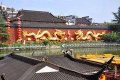 Nanjing Confucius Temple, China stock photos