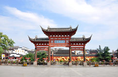Nanjing Confucius Temple Royalty Free Stock Photography