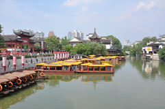 Nanjing Confucius Temple Royalty Free Stock Images