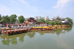 Nanjing Confucius Temple Stock Photo