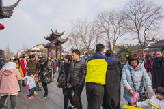 Nanjing Confucius Temple scenic spot Royalty Free Stock Image