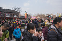 Nanjing Confucius Temple scenic spot Royalty Free Stock Photos