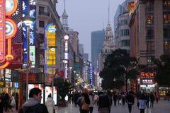 nanjing droga Shanghai Zdjęcie Stock