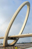 Nanjing eye bridge walk Royalty Free Stock Images