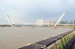 Nanjing eye bridge walk Stock Photography
