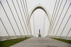 Nanjing eye Pedestrian bridge Stock Photography