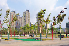 Nanjing green Olympic culture and Sports Park Stock Photography