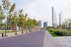 Nanjing green Olympic culture and Sports Park Stock Photos