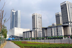 Nanjing green Olympic Village Royalty Free Stock Photography