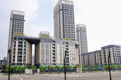 Nanjing green Olympic Village Stock Images