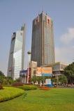 Nanjing Gulou Square stock photo