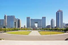 Nanjing Hexi CBD Royalty Free Stock Images