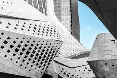 The Nanjing International Youth Cultural Center. In Nanjing, China royalty free stock photo