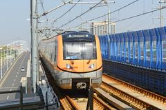 Nanjing City Metro Line S8, China Stock Images