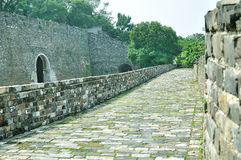 Nanjing Ming City Wall Photographie stock