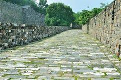 Nanjing Ming City Wall Foto de archivo libre de regalías