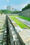Nanjing Ming City Wall Royalty Free Stock Image
