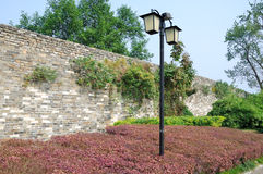 Nanjing Ming Dynasty city wall Stock Photography
