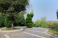 Nanjing Ming Dynasty city wall Royalty Free Stock Photo