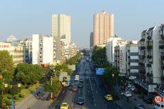 Nanjing modern city skyline, China Stock Images