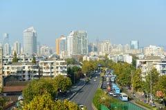 Nanjing modern city skyline, China Stock Image