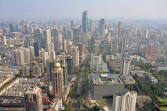 Nanjing Modern Skyline, China Stock Photography
