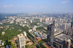 Nanjing Modern Skyline, China Stock Photo