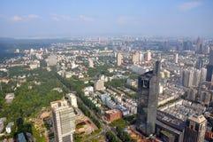 Nanjing Modern Skyline, China Stock Photo