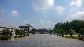 Nanjing museum royaltyfri bild