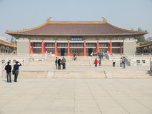 Nanjing Museum. Museum is located in Nanjing, Jiangsu Province , Nanjing Purple Mountain, covers an area of over 83,000 square meters , is a large Royalty Free Stock Images