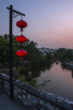 Nanjing night scene Stock Photography