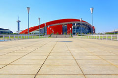 Nanjing Olympic Sports Center Gymnasium Royalty Free Stock Photo