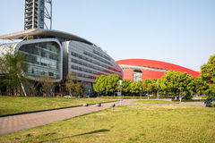 Nanjing Olympic Sports Center Stock Image