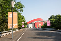 Nanjing Olympic Sports Center Royalty Free Stock Photos