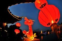 Nanjing Qinhuai lykta Royaltyfri Foto