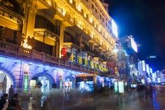 Nanjing Road, Shanghai Royalty Free Stock Image