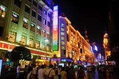 Nanjing Road, Shanghai Royalty Free Stock Images
