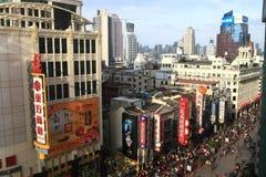 Nanjing Road in Shanghai,China Royalty Free Stock Images